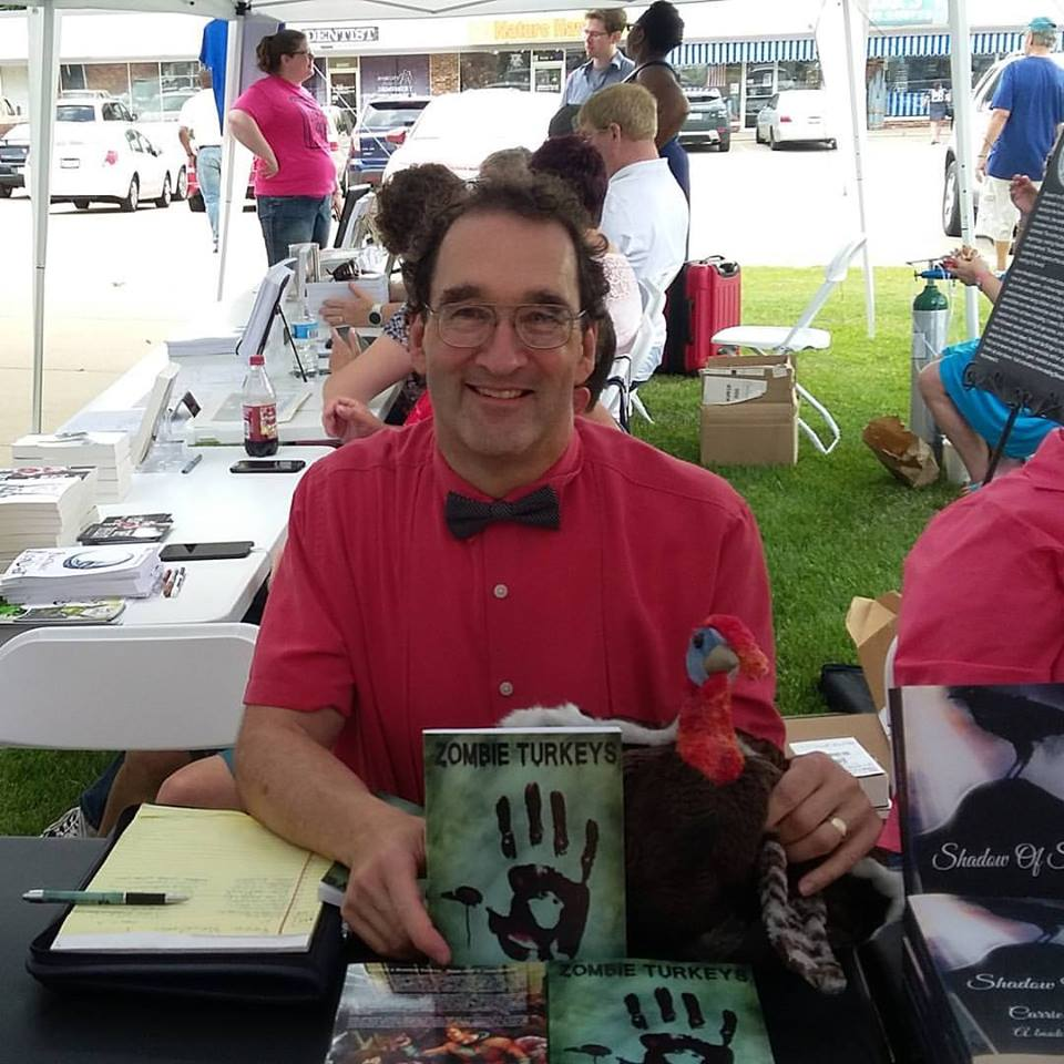 Andy Zach at the Book Nook in Peoria