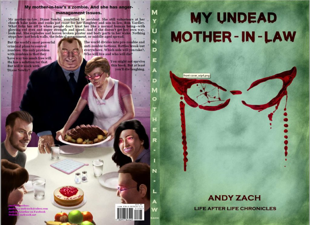"""Andy Zach TV Version for """"My Undead Mother-in-law"""" Launch"""